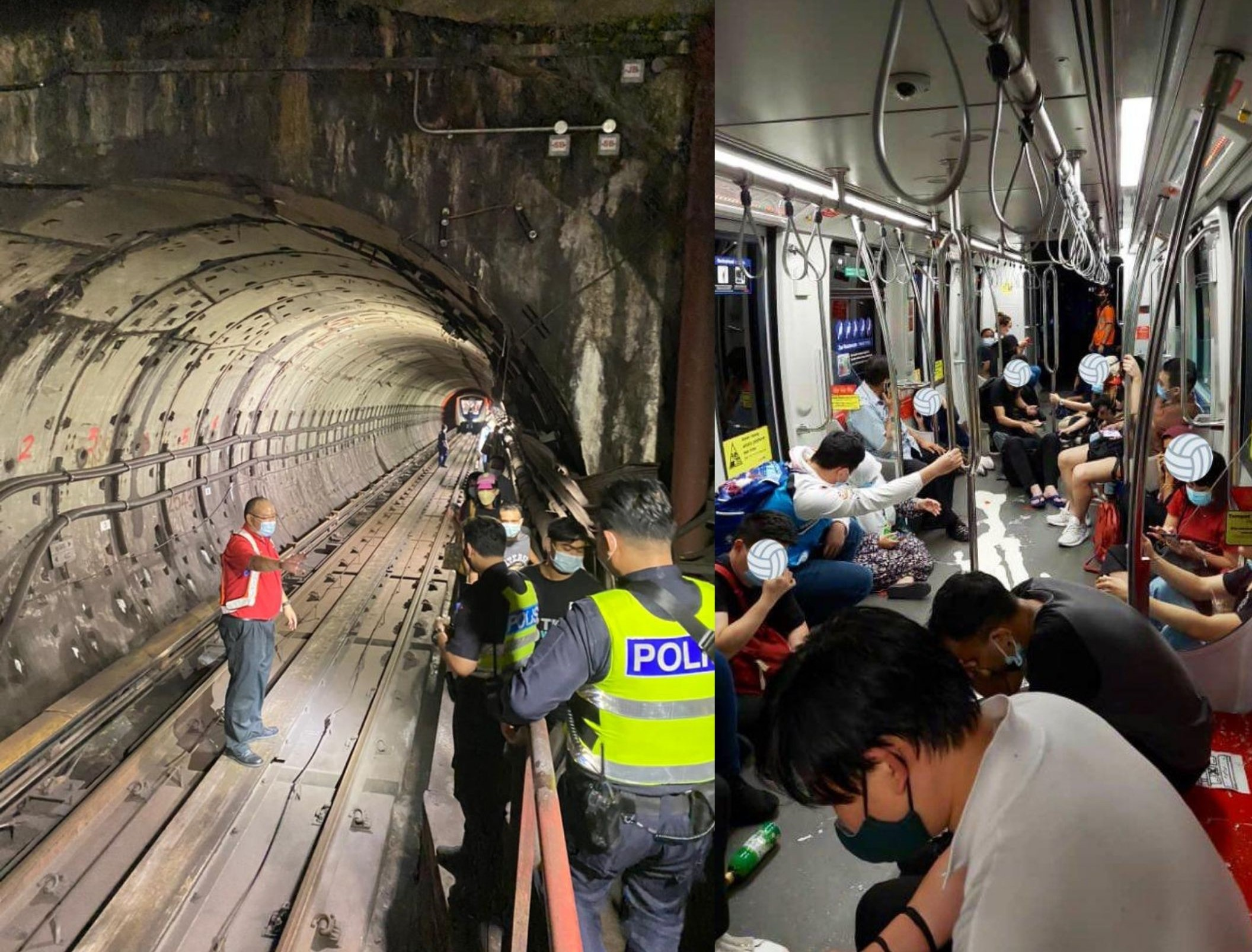LRT Trains Collide Into One Another Leaving 166 Passengers Injured