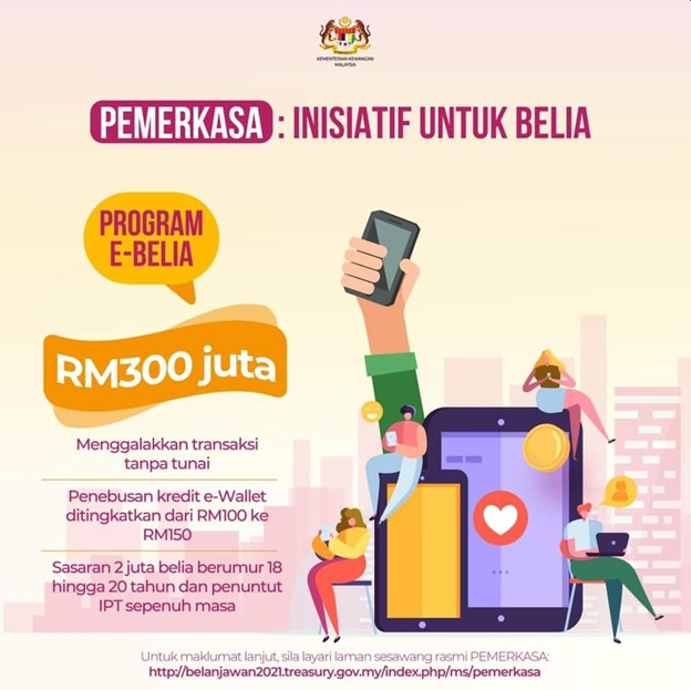 Youths between 18-20 years old- and full-time university students can claim the cash via 4 eWallet apps.