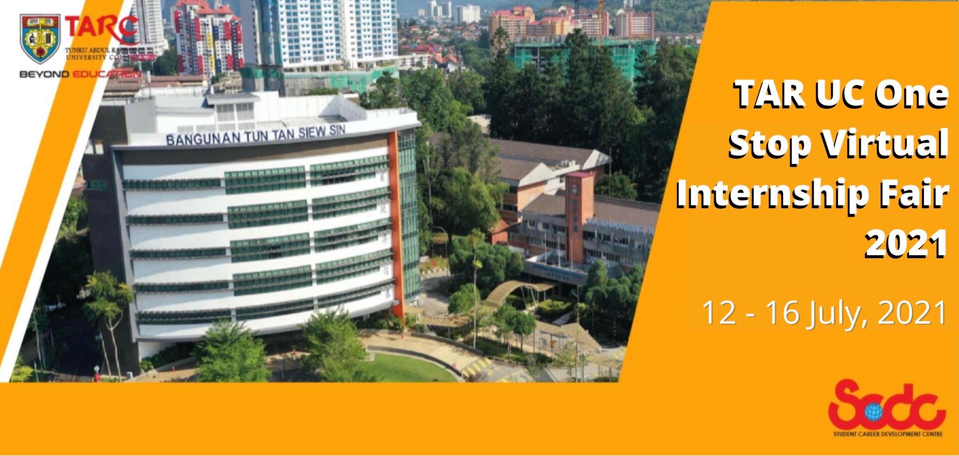 TAR UC Virtual Internship Fair 2021