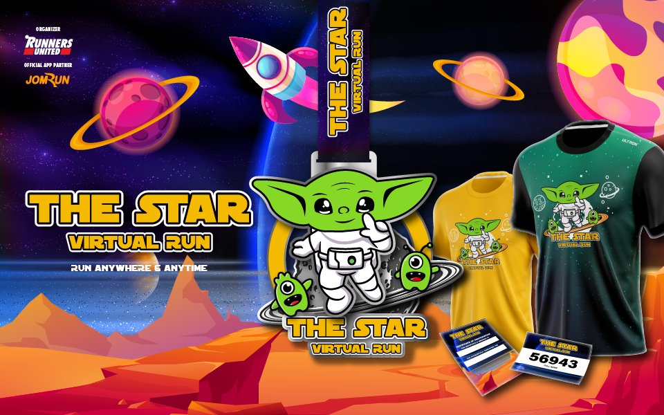 Come join our The Star Virtual Run!