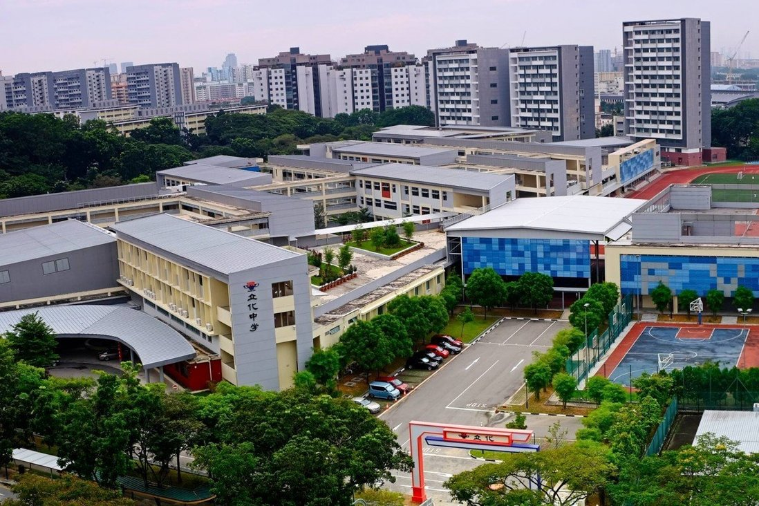 High school in Singapore closed temporarily out of fear.
