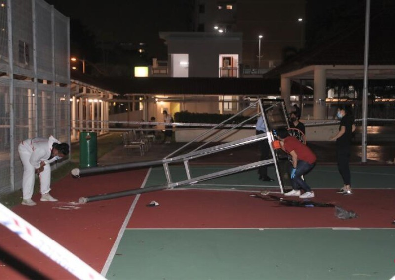 Court Catastrophe: Teen Dies As Basketball Hoop Structure Falls On Him