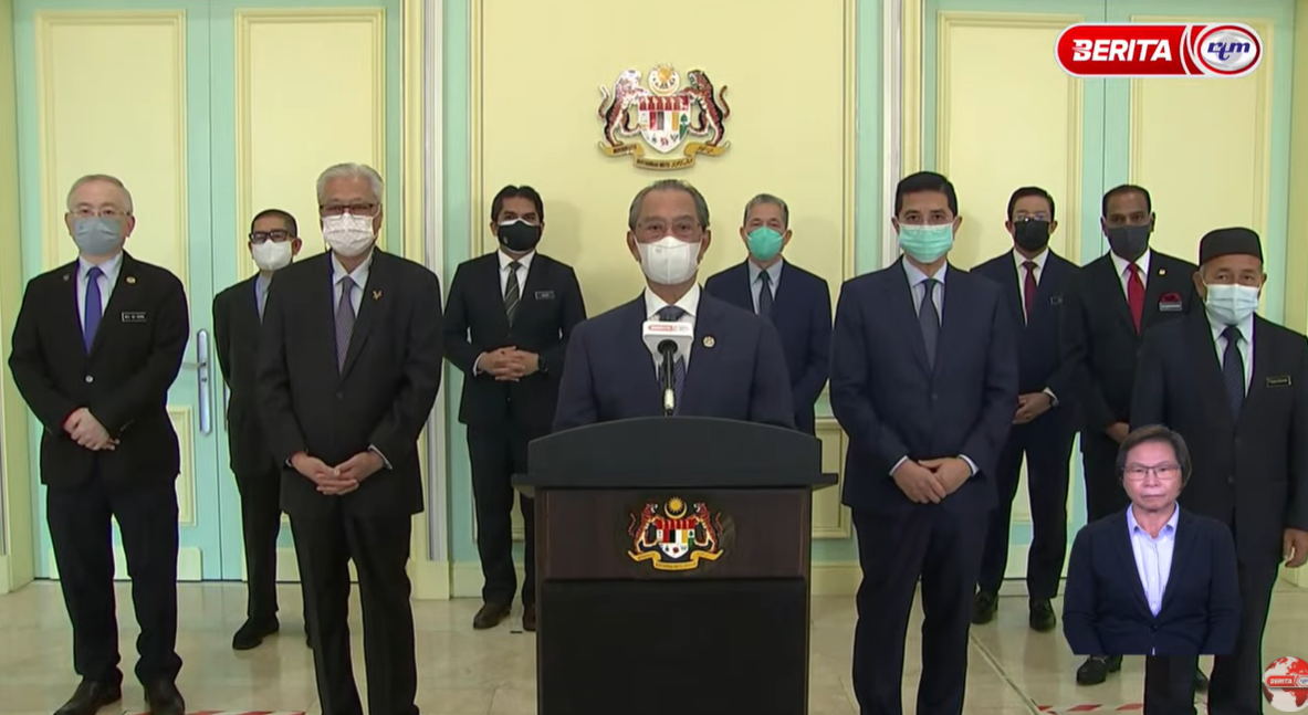 Demands For PM Muhyiddin To Step Down Overuled!