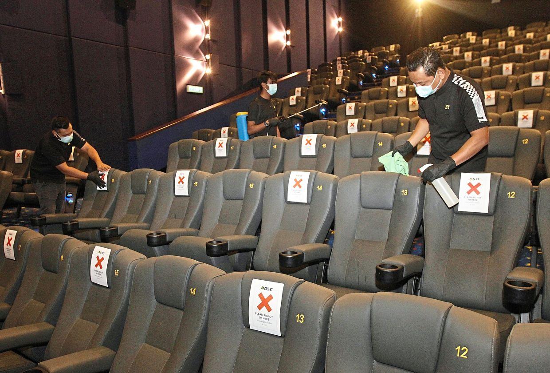 Cinemas To Take Extra Precaution Before Opening Their Doors To Moviegoers