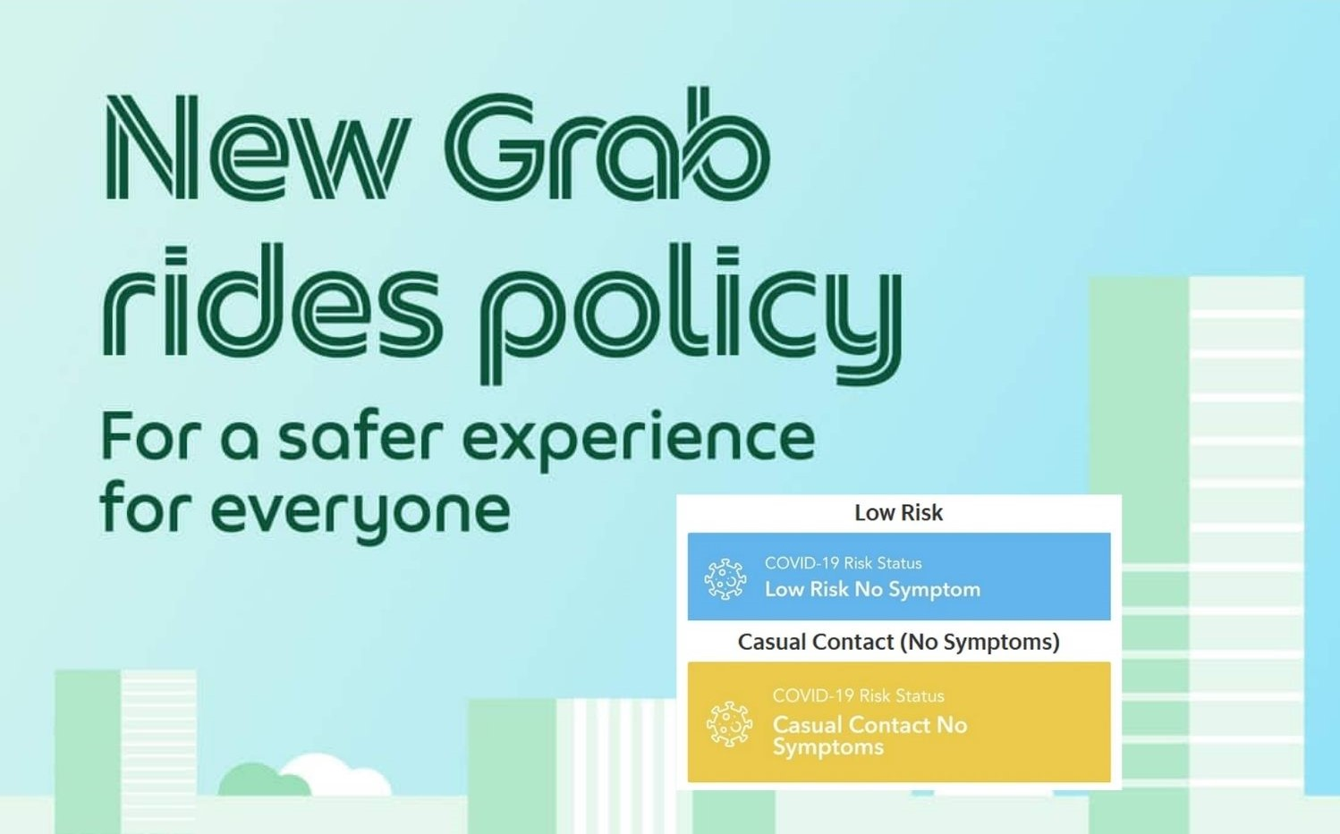 Grab To Deny Those With High Risk Status From Using Their E-Hailing Services