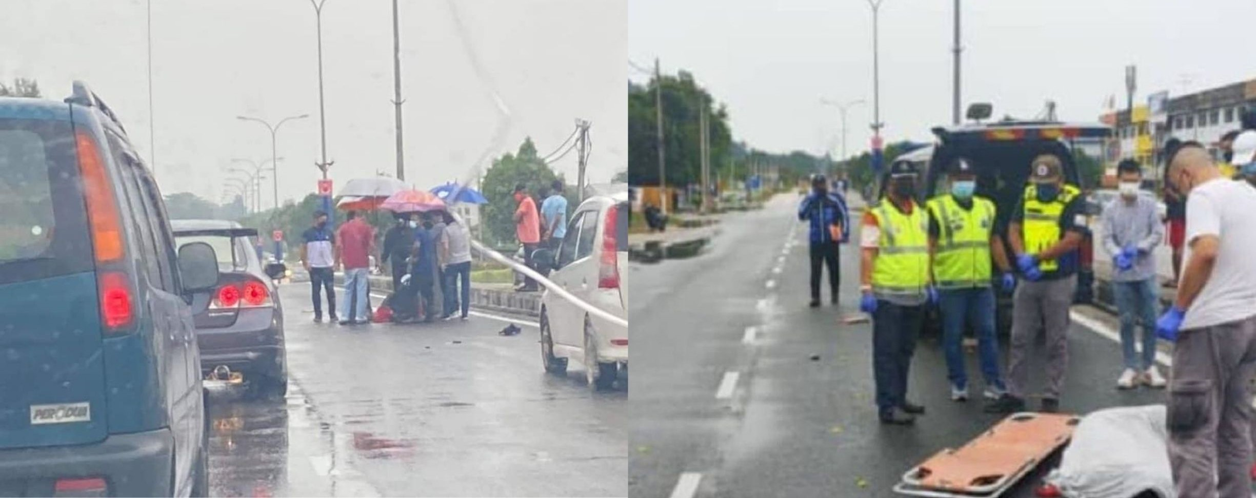 Policeman Crashes Into Woman While She Was Crossing The Road