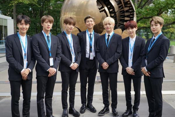 BTS To Speak At United Nations General Assembly
