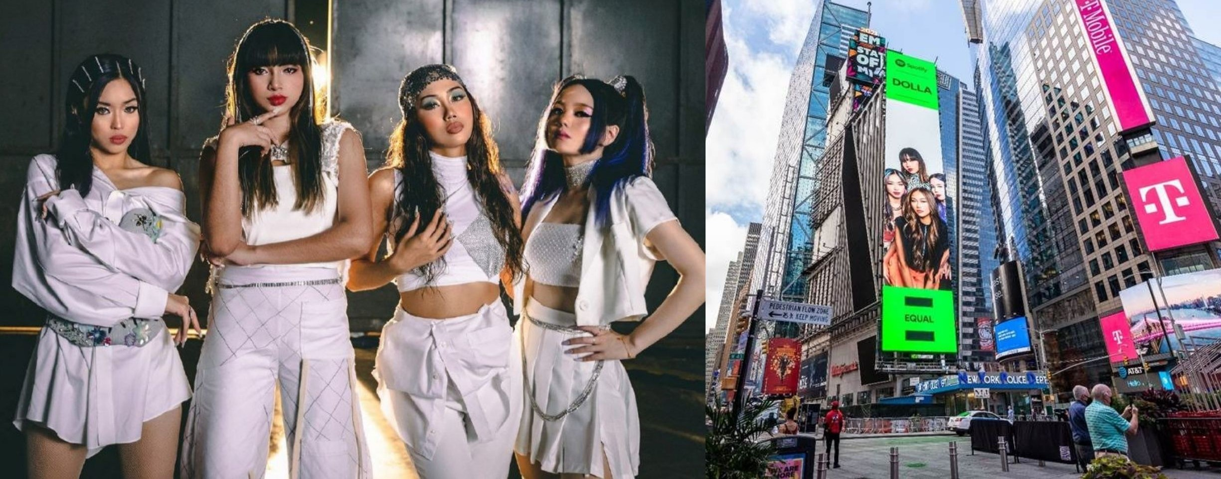 DOLLA Gets Featured On NYC's Time Square Billboard!