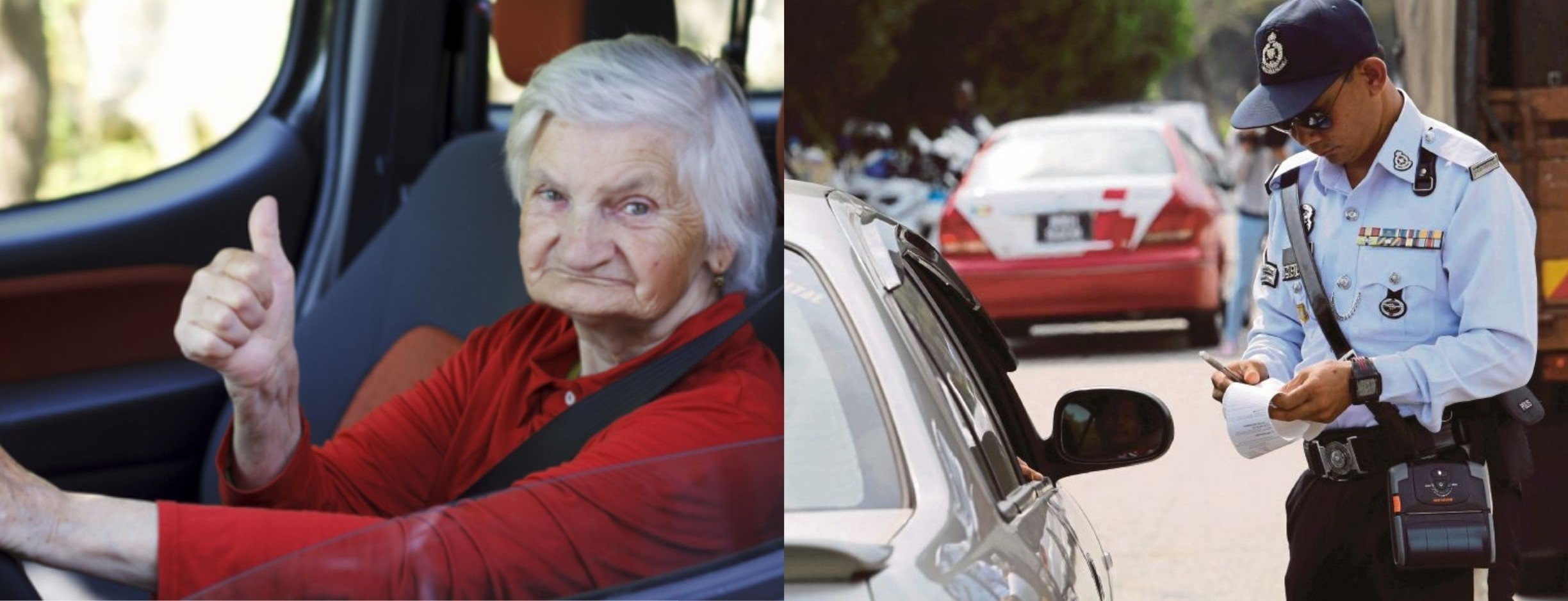 PDRM Suggests To Restrict Driving Licenses Of Senior Citizens