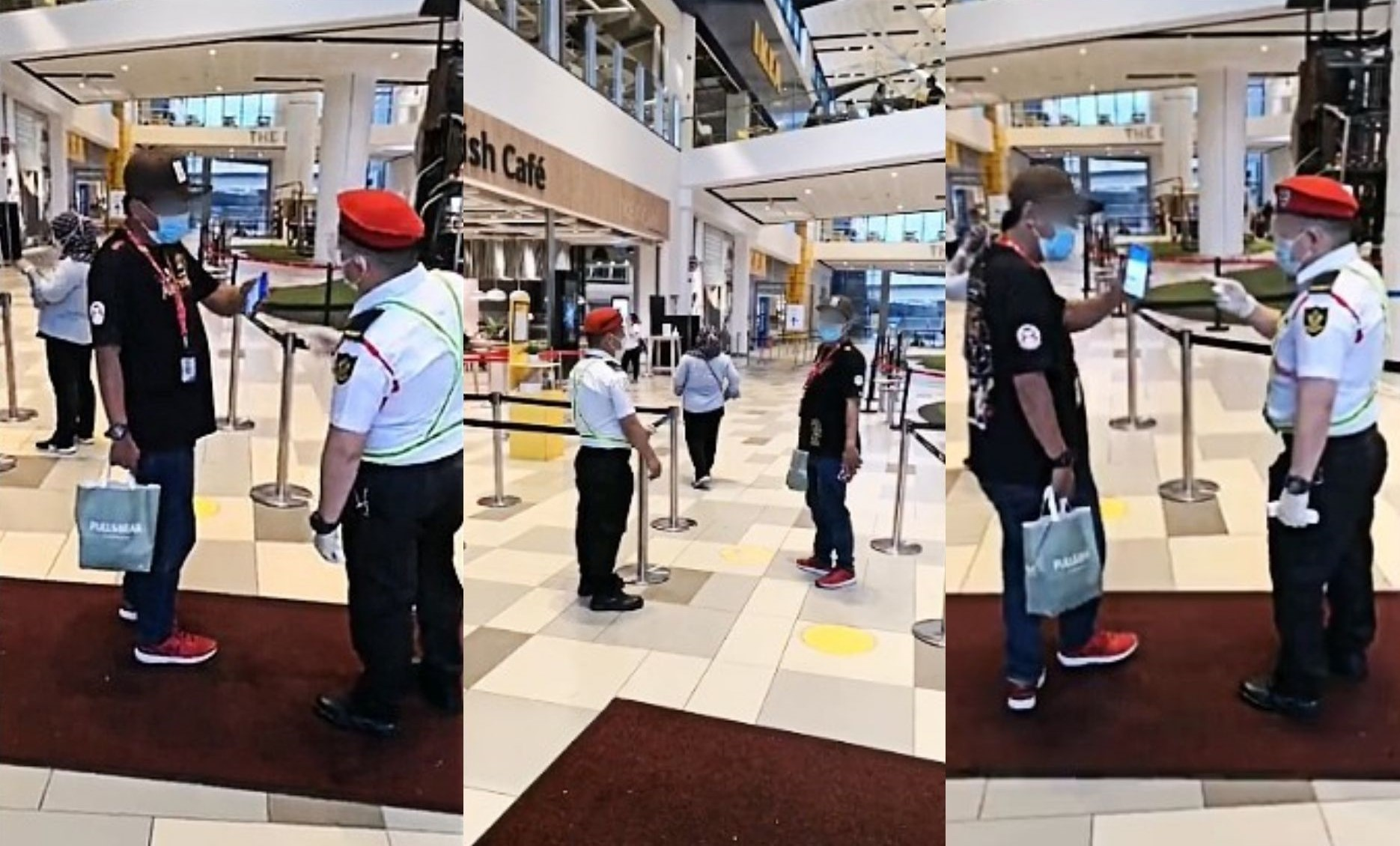 Viral: Man Refuses To Declare Vaccination And Walks Straight Into KL Mall