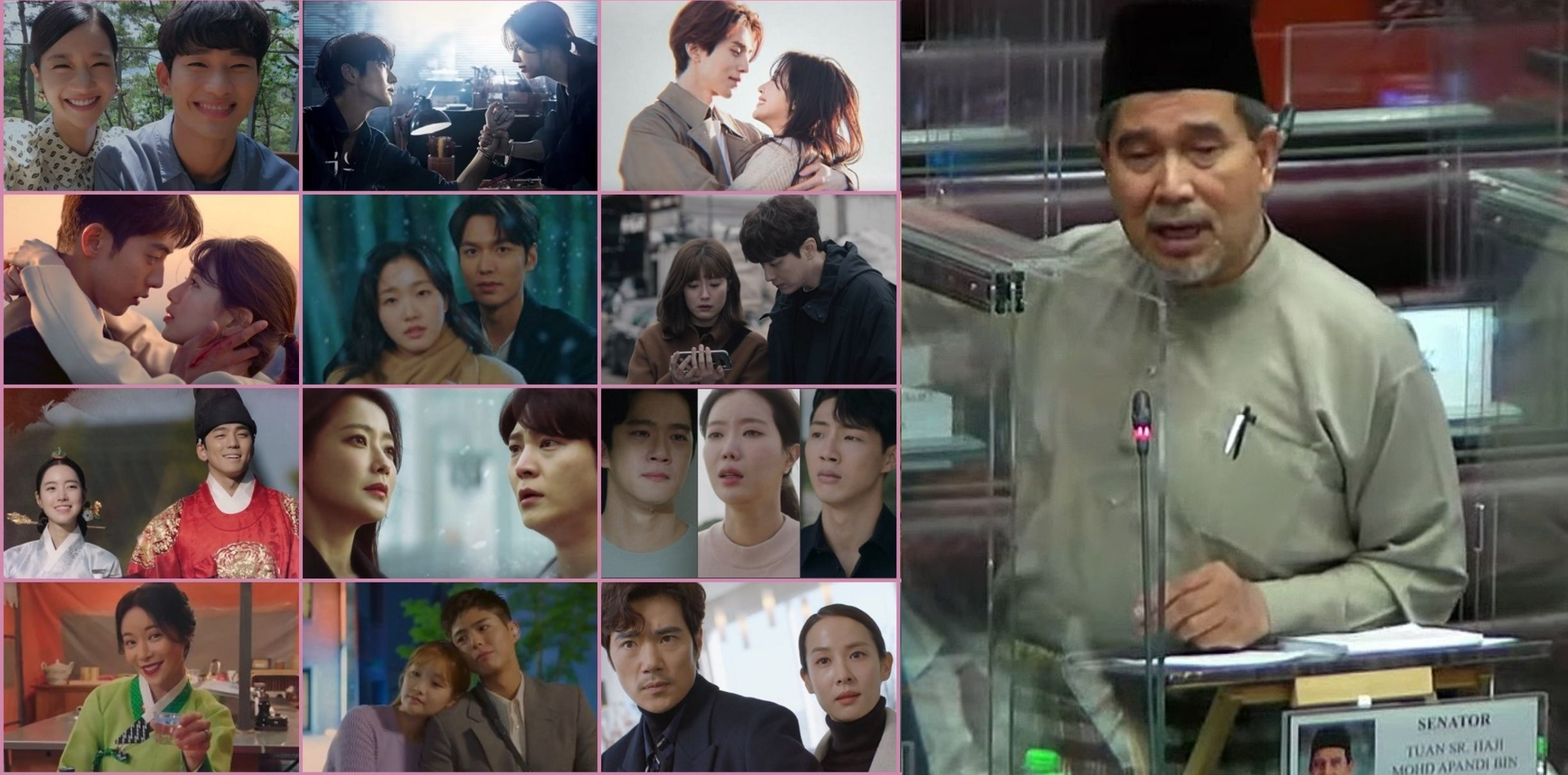 Malaysian Senator Blames K-Drama For Why Youths Try To Kill Themselves