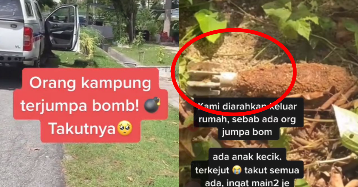 Man Found A-Still-Active Bomb In His Backyard