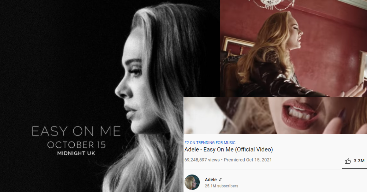 """First Release In Five Year And We SHOULD Go """"Easy"""" On Adele"""