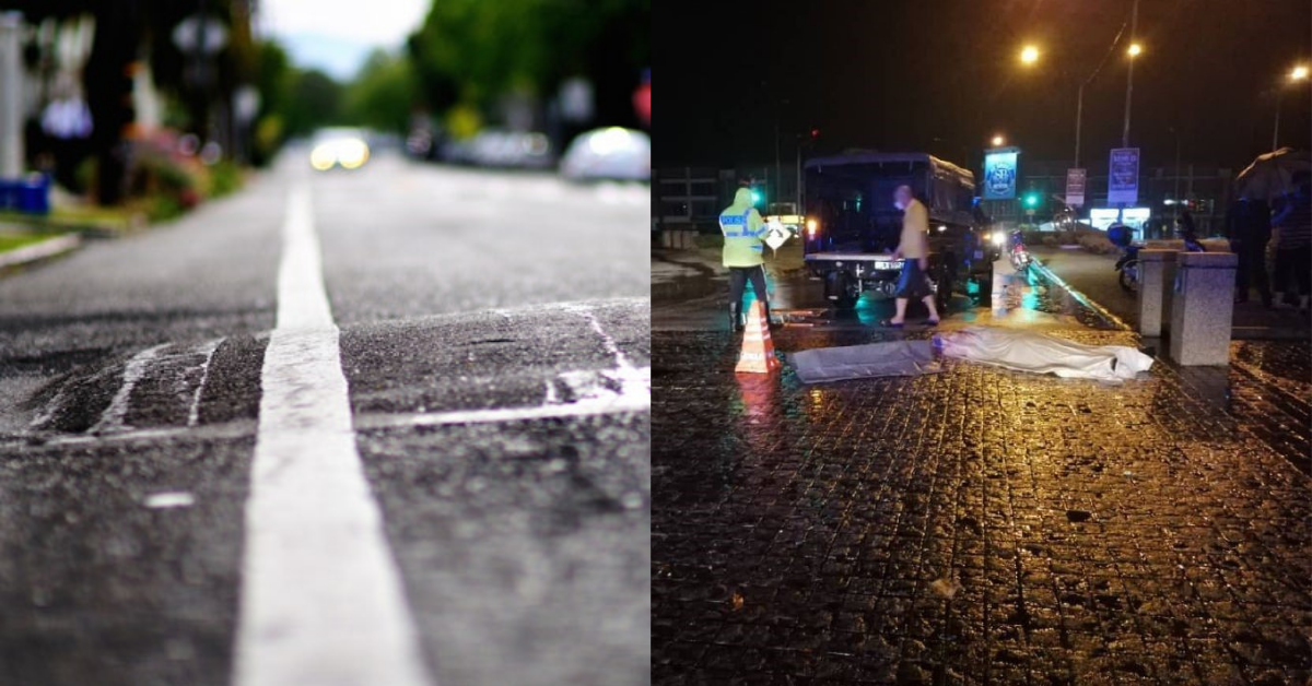 RIP: Motorcyclist Killed By Bump On Road