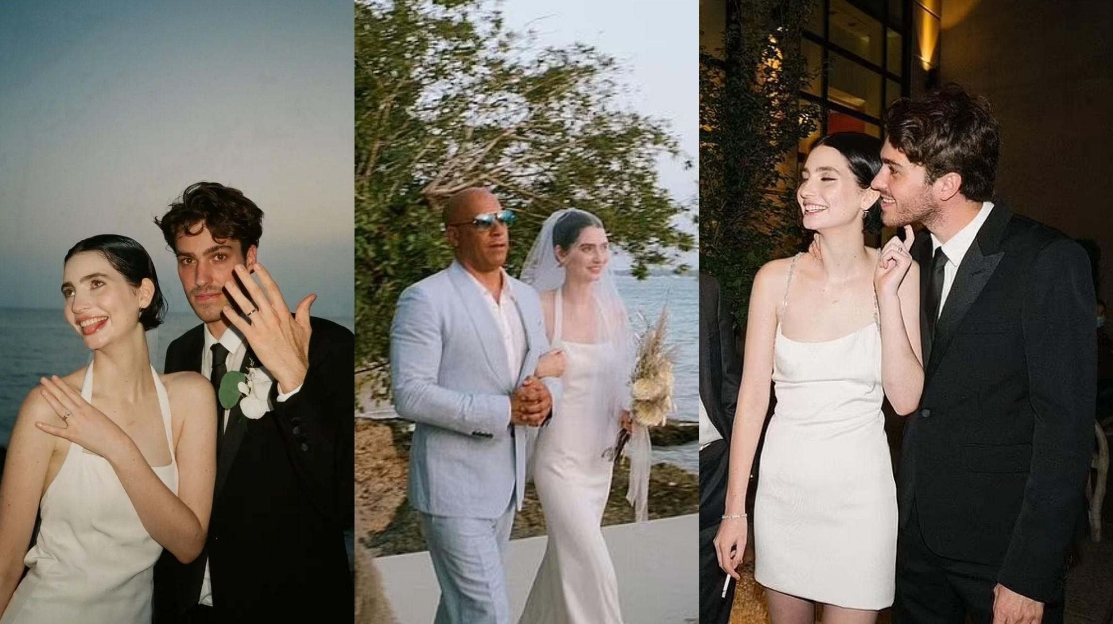 Vin Diesel Walks Daughter Of Late Paul Walker Down The Aisle For Her Wedding