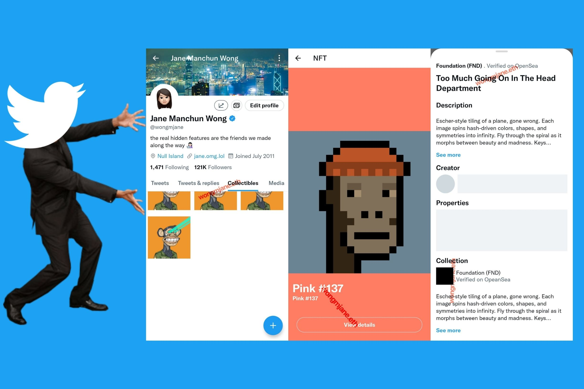 Twitter Teases Ability To Show Off NFT's Via New Collectibles Tab