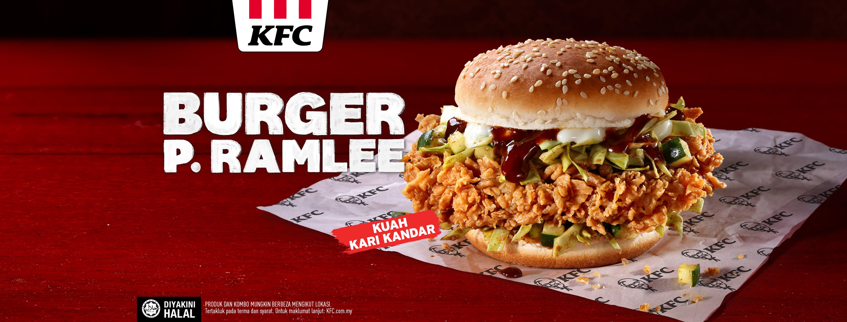 KFC Introduces Burger P.Ramlee As A Tribute To The Legend Himself
